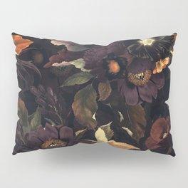 Vintage & Shabby Chic - Flowers at Night Pillow Sham