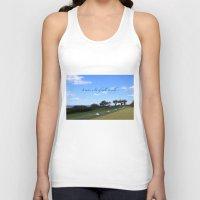 golf Tank Tops featuring Golf by Rebecca Bear