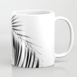 Palm Leaves Black & White Vibes #3 #tropical #decor #art #society6 Coffee Mug