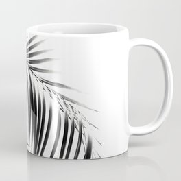 Palm Leaves Black & White Vibes #3 #tropical #decor #art #society6 Coffee Mug