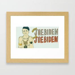 Joe Biden Framed Art Print