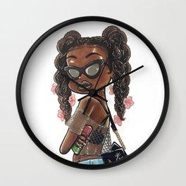 Susie Summer Festival Wall Clock