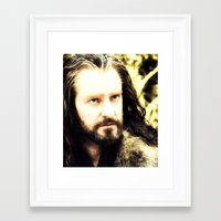 thorin Framed Art Prints featuring Thorin by Jetachi
