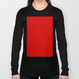 Rosso Corsa Red Long Sleeve T-shirt