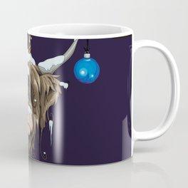 Christmas Highland Cow Coffee Mug