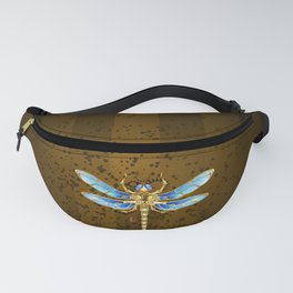 Mechanical Dragonfly ( Steampunk ) Fanny Pack