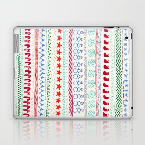Christmas Doodles Laptop & iPad Skin