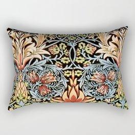Snakeshead William Morris Pattern Rectangular Pillow