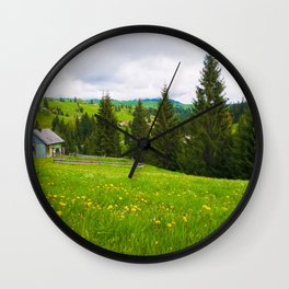 countryside Wall Clock