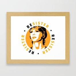 ReSister - Free Chelsea Manning Political Art Framed Art Print