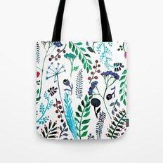 Plant pattern Tote Bag