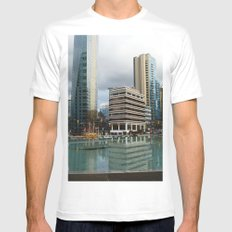 Vancouver Mens Fitted Tee White MEDIUM