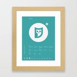 OMG Apparel Framed Art Print