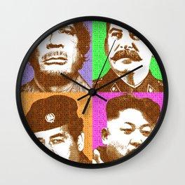 Scrabble Tyrants Wall Clock