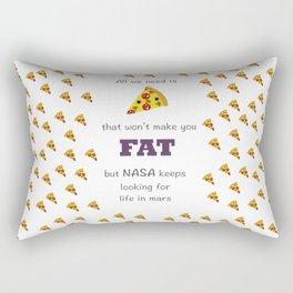 love pizza Rectangular Pillow