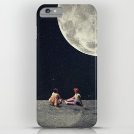 I Gave You the Moon for a Smile iPhone Case