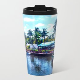 Tropical Marina Travel Mug