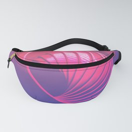 rOll sphere in purple Fanny Pack