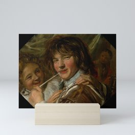 "Frans Hals ""The smoker"" Mini Art Print"