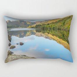 Crafnant Lake Snowdonia Rectangular Pillow