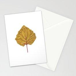 Goldenberry leaf Stationery Cards