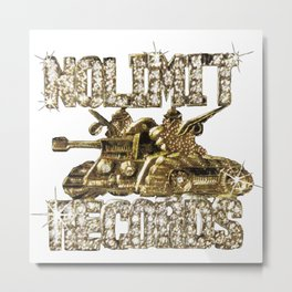 No Limit Records Chain Pendant Metal Print