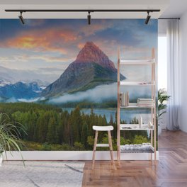 Glacier National Park Wall Mural