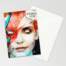 Ziggy Stardust/David Bowie Stationery Cards