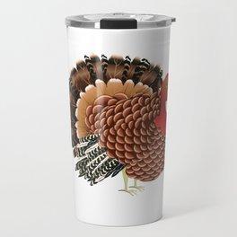 Cartoon turkey Travel Mug