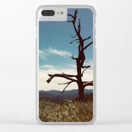 The Cool Dancer Tree Clear iPhone Case