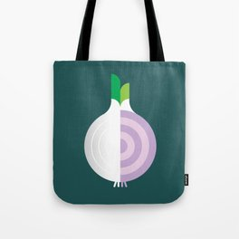 Vegetable: Onion Tote Bag