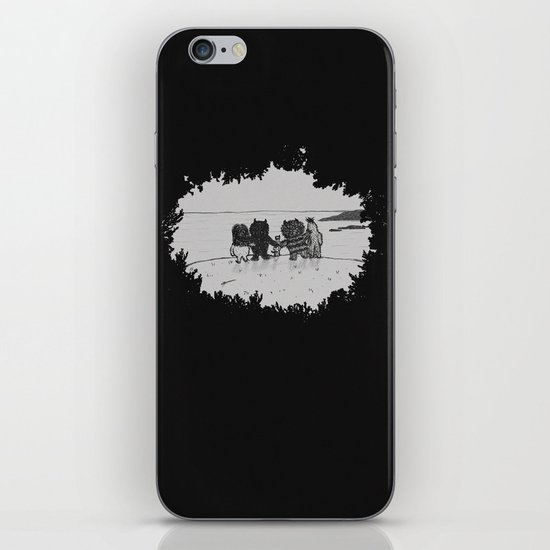 Surrounded By Your Friends iPhone & iPod Skin