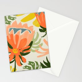 May The Flowers Remind Us Why The Rain Was So Necessary #painting #botanical Stationery Cards