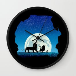 Growing up Wall Clock