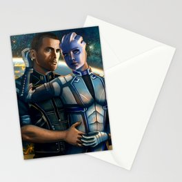 Mass Effect - Always here for you. Stationery Cards