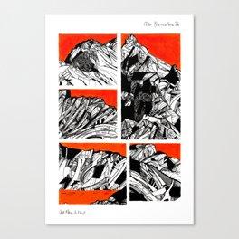 After Wainwright - Blencathra 26 Canvas Print