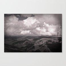 leopard mountains Canvas Print