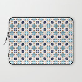 Talavera Floral Tiles Pattern Laptop Sleeve