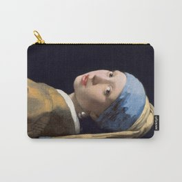 Girl With a Pearl Earring - Vermeer Carry-All Pouch