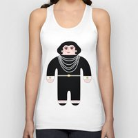 coco Tank Tops featuring Coco by Late Greats by Chen Reichert