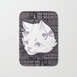 WORSHIP ME Bath Mat