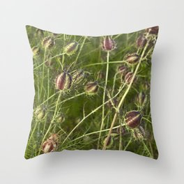 NIGELLA - Love-In-A-Mist Throw Pillow