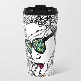 Geometry and colours Travel Mug