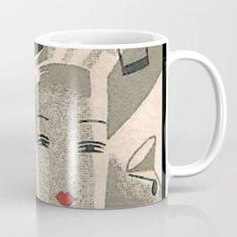 Art Deco Glamour Couple Coffee Mug