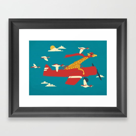 Red Barons Framed Art Print