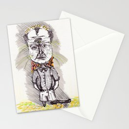 the third eye alive Stationery Cards