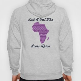 Africa Love Saying Gift Women Girls Hoody