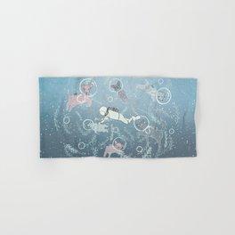 Scuba Dogs Hand & Bath Towel