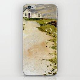 windswept coast iPhone Skin