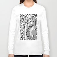 psychedelic Long Sleeve T-shirts featuring Psychedelic by GPM Arts